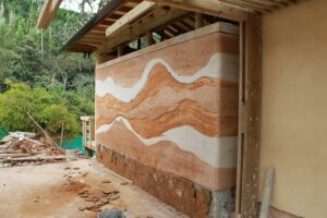Rammed Earth Wall