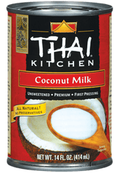 Thai Kitchen Coconut Milkhttp://www.thaikitchen.com/
