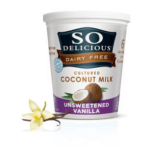 So Delicious Dairy Free Yogurt Alternativehttp://sodeliciousdairyfree.com/